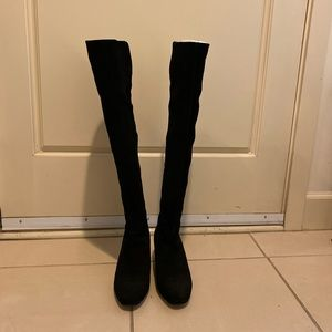 Nine West Shoes - Nine West Suede Over the Knee Boots Size 7.5